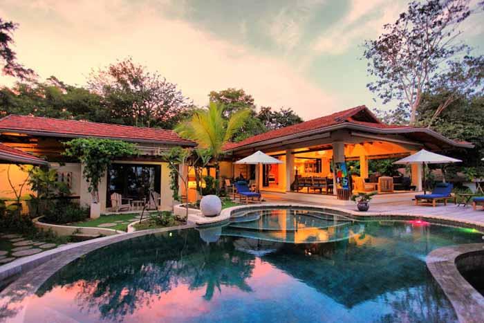 Rancho Cielo Costa Rica at Sunset
