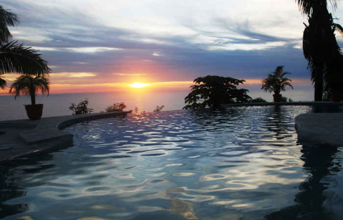 amazing view from costa rica rental