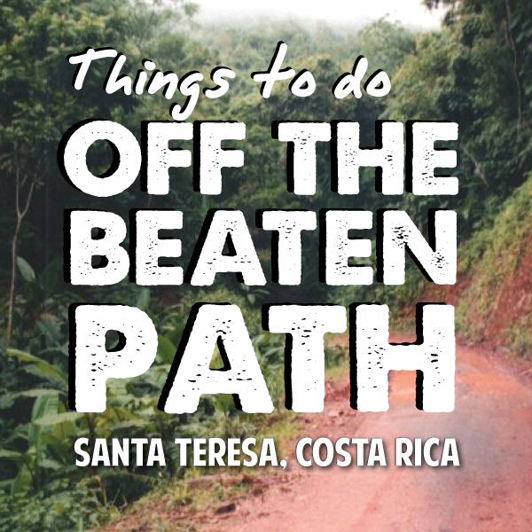 Santa Teresa Costa Rica activities