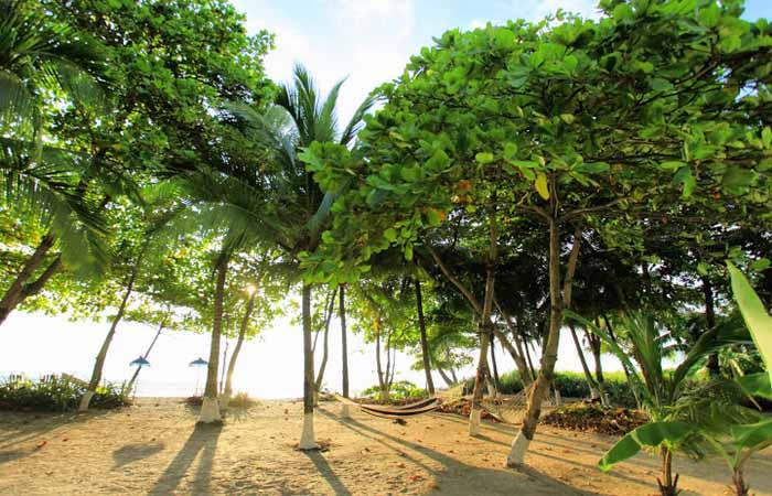 Playa hermosa just north of santa teresa