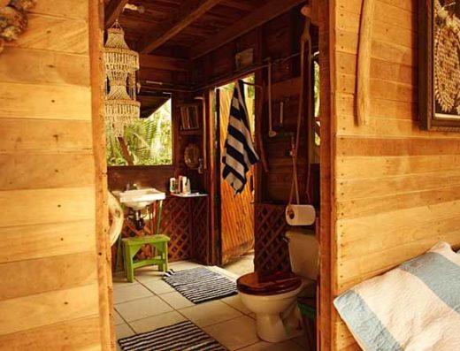 bathroom at Casa Carlyn