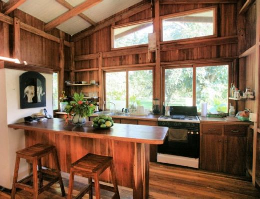 Kitchen at Teak Vacation Rental